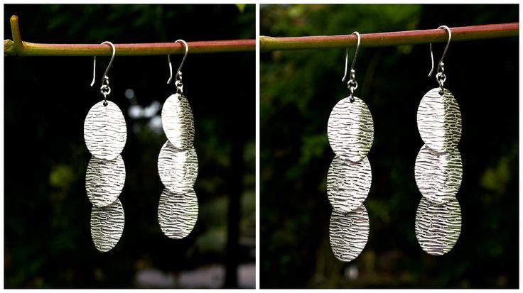 Schitterende lange zilveren oorbellen http://www.dczilverjuwelier.nl/