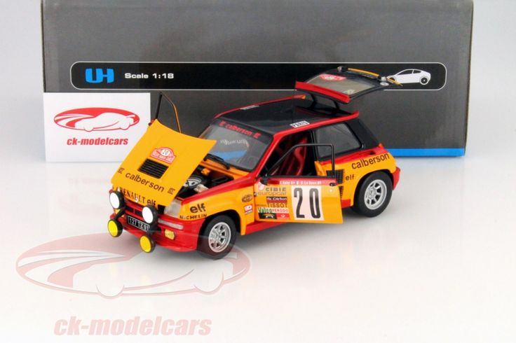 Renault 5 Turbo, Rally Monte Carlo 1981, No.20, B.Saby / D. Le Saux. Universal Hobbies, 1/18, Limited Edition 1500 pcs. Price (2016): 45 EUR.