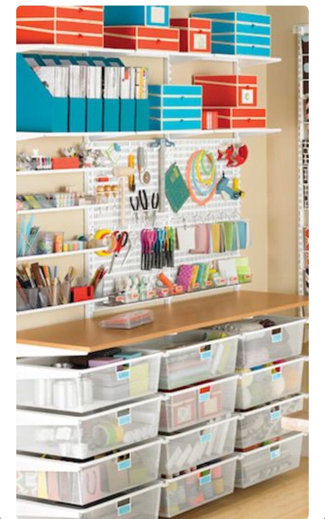 Major organization in minor spaces, love this idea, floor to ceiling functional!_sam