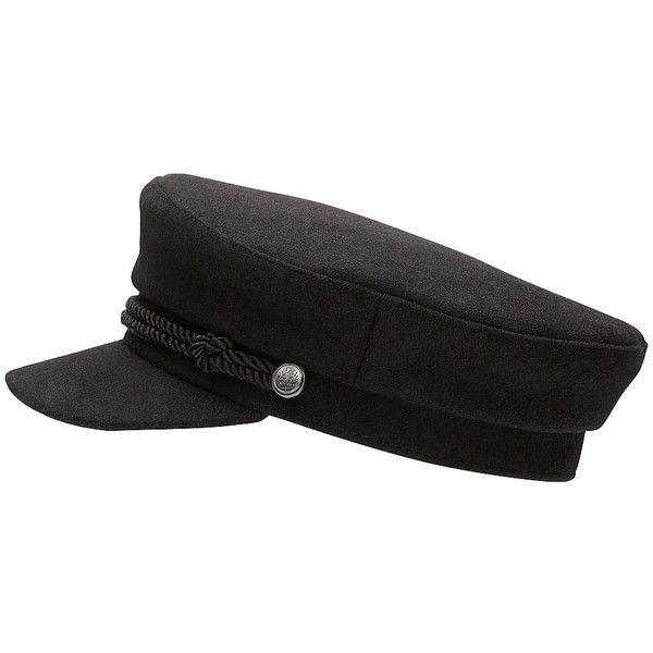 Witchery Military Cap ($38) ❤ liked on Polyvore featuring accessories, hats, military style cap, news boy cap, newsboy hat, news boy hats and military hats