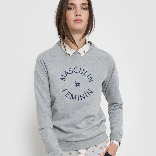 Organic Cotton Masculin # Feminin Sweatshirt