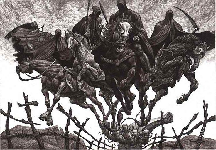 Julian Jordanov Four Horsemen Of The Apocalypse ex