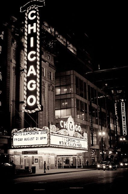 chicago chicago noir by ifotog, Queen of Manhattan Street Photography, via Flickr