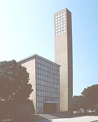 The first Christian Church, Columbus, Indiana - 1942 Art Contrarian: December 2011