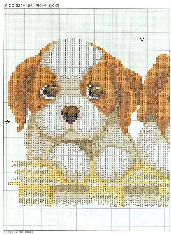 Mejores 54 imágenes de borduurderijtjes - honden en Pinterest ...
