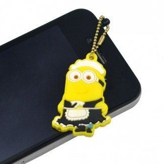 Minions ♡ at https://www.etsy.com/listing/173160727/despicable-me-minion-dust-plug-for