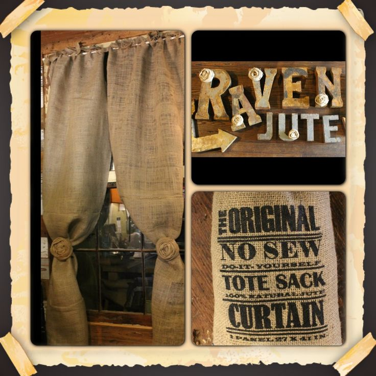 Burlap Curtain: Jute Company, Company Products, Burlap Curtains, Makin Money, J J Makin, Ravens Jute