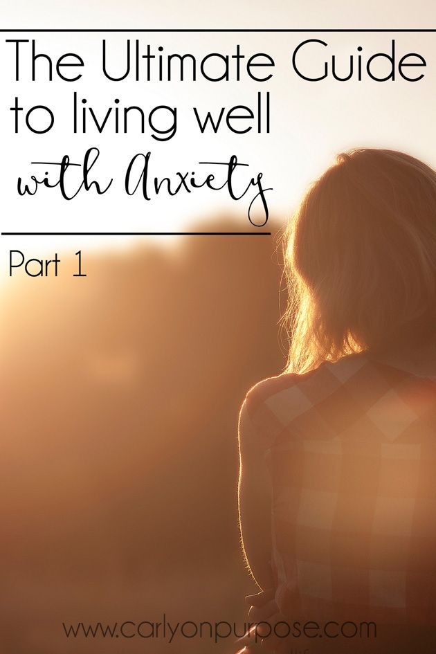 Do you struggle with anxiety and haven't figured out how to deal with it yet? This series is just for you!