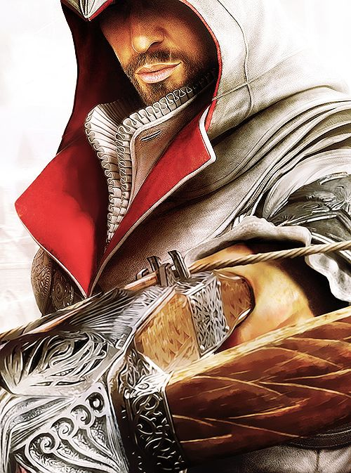 Ezio Auditore da Firenze. I'm sick of imaginary men being SO attractive.