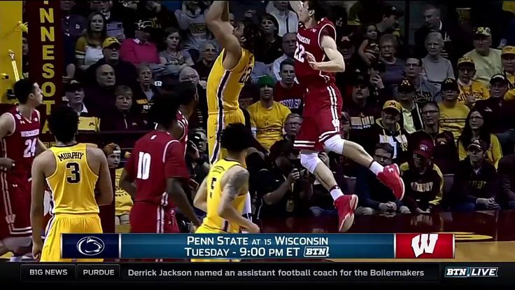 Penn State at Wisconsin - Men's Basketball Preview
