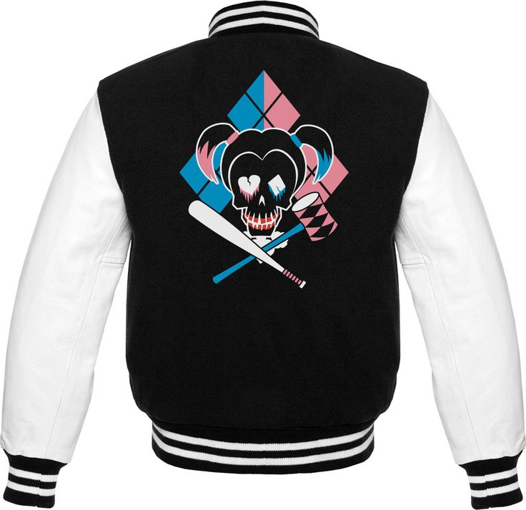 Suicide Squad - Harley Quinn Icon Official Varsity Jacket