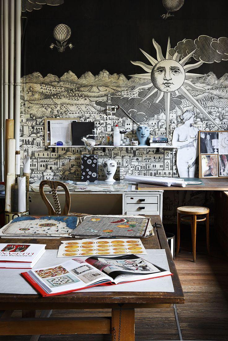 Fornasetti Art Prints 30 Best Piero Fornasetti Images On Pinterest Paintings