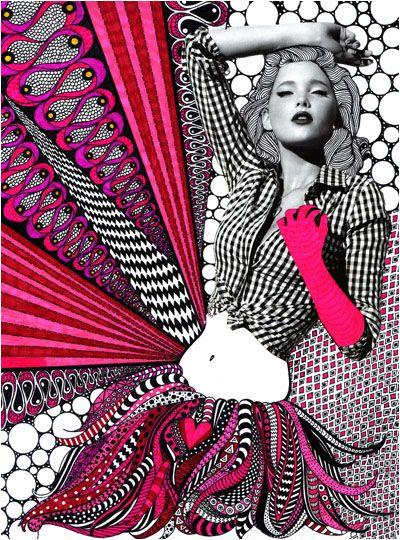 mixed media - Nikki FarquharsonNikki Farquharson, Mixedmediaart, Fashion Style, Nikkifarquharson, Photos Collage, Black White, Graphics Design, Fashion Photography, Mixed Media Art