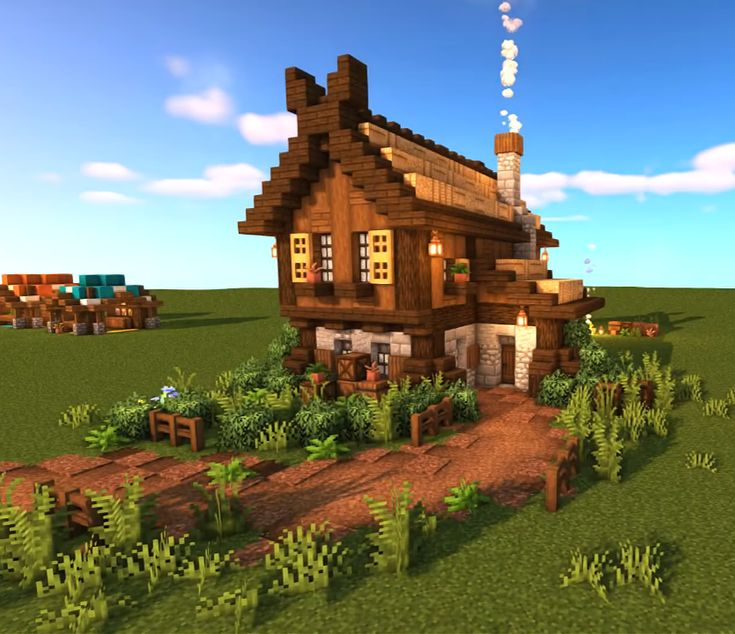 Nordic House in 2020   Cute minecraft houses, Minecraft ...