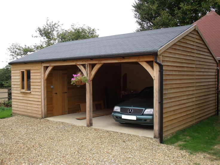 Nice Open Garage Idea Home Carriage House Garage