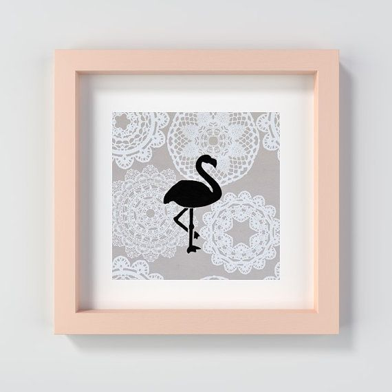 Printable flamingo nursery print. Flamingo print. Flamingo painting. Flamingo Art. This printable flamingo nursery print will be delivered to you as a digital file. Includes 1 JPG file that may be used to create prints of every size listed in the description below! You may print the artwork at home, via an online print shop or in a local print shop of your choice. This flamingo painting print would look adorable in a nursery or playroom. This flamingo art print may also make a fun baby…
