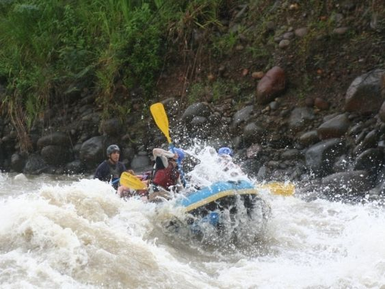 Rafting class IV in La Fortuna, Costa Rica. Book now! from $89 http://bookthingstodo.com/costa-rica/fortuna-3/rafting-sarapiqui-rver-class-iv-from-la-fortu