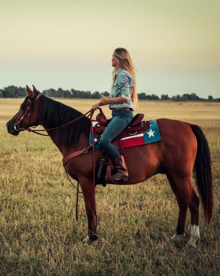 It's easy to get lost in the beauty of the outdoors while on horseback.