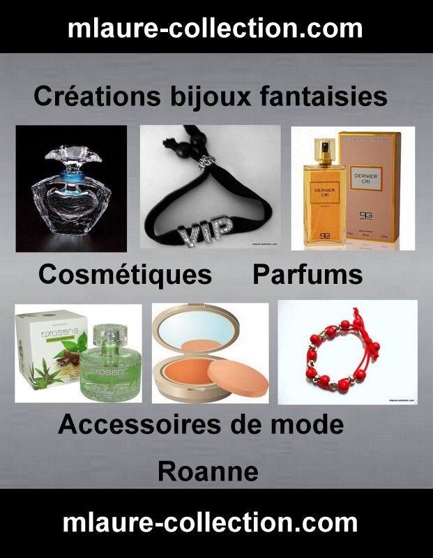 Votre site shopping, créations bijoux fantaisies, cosmétiques & parfums !