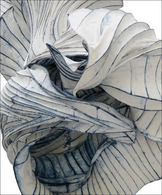 detail of paper sculpture by Paul Gentenaar at the townhall in The Hague http://www.flickr.com/photos/9524771@N06/7920730864/