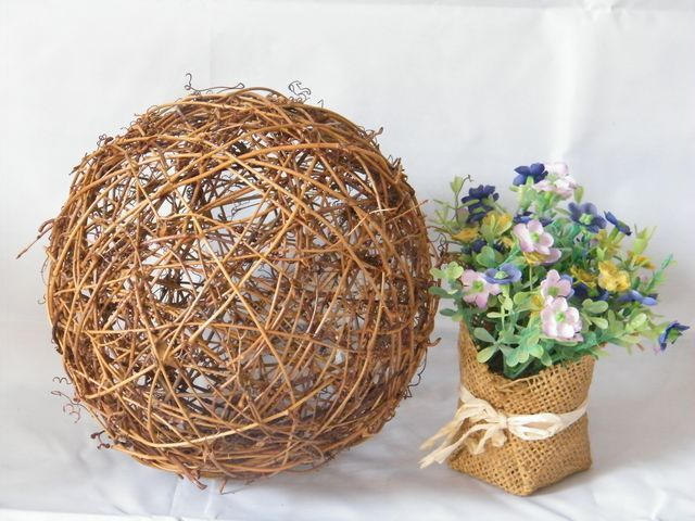 Decorative Rattan Balls 14 Best Rattan Ballsrattan Ornaments Images On Pinterest