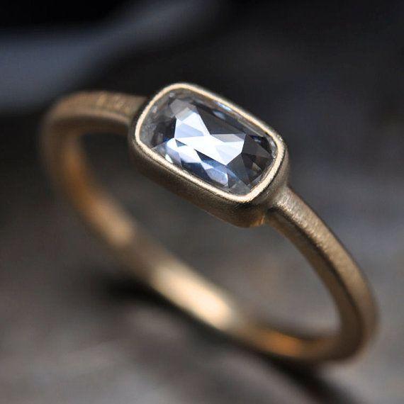 o: Cushions Cut, Diamond Rings, Rose Cut Diamonds, Cut Squares, So Pretty, Matte Gold Diamonds Rings, Cut Cushions, Amazing Jewelry, Rose Gold