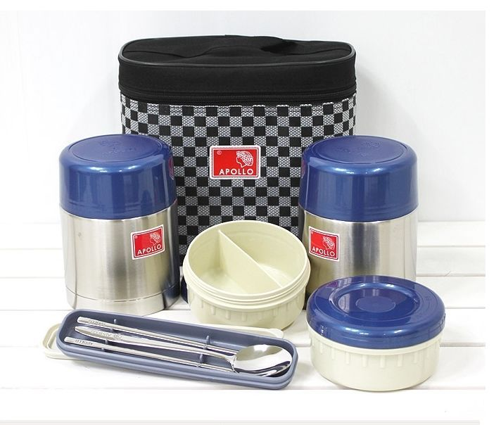 Apollo Vacuum stainless steel Thermos Thermal Container Food Jar set APL-1810 #apollo