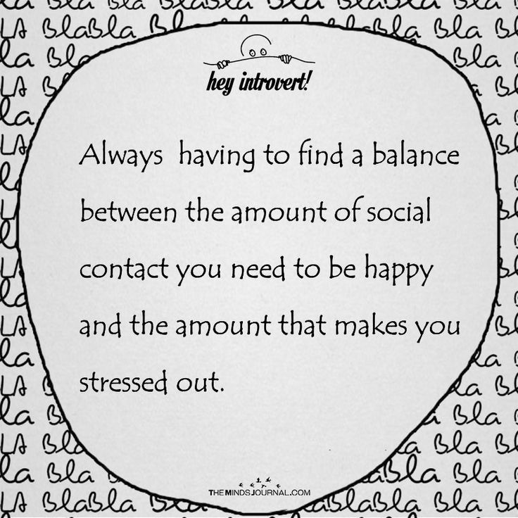Always Having To Find A Balance - https://themindsjournal.com/always-find-balance/