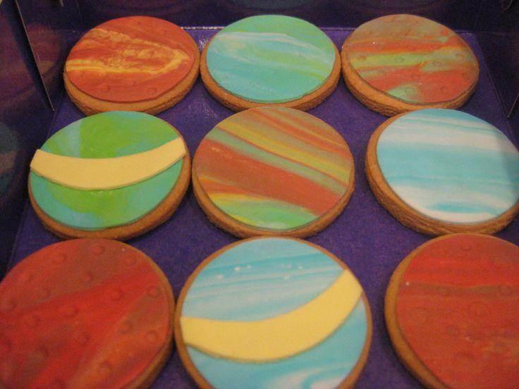 Μπισκότα - Πλανήτες! #sugarela #mpiskota #planites