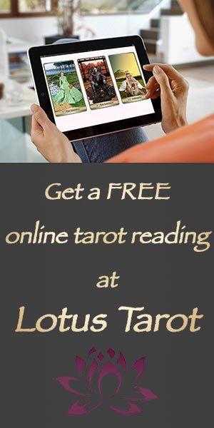 Get a free tarot reading from Lotus Tarot