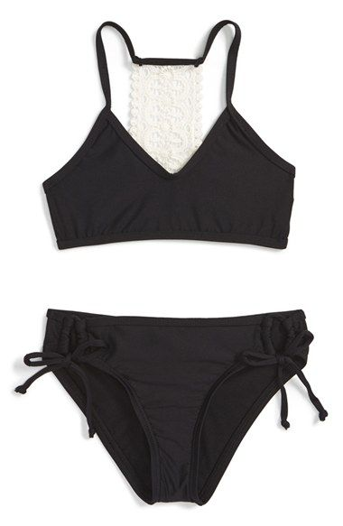 Ella Moss 'Stella' Two-Piece Swimsuit (Big Girls) available at #Nordstrom