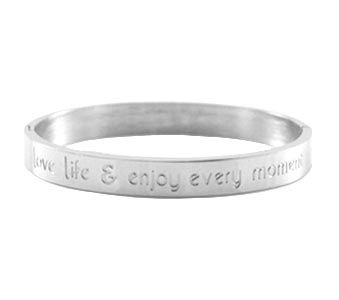 Armband Love life (groot) www.Millows.nl
