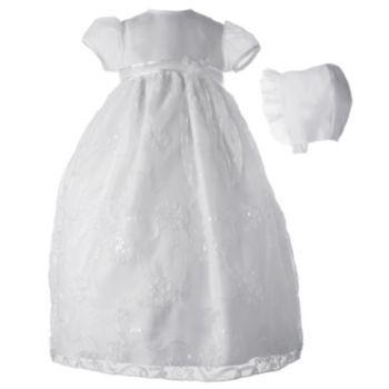 American Originals Floral Organza Dress - Baby Girl