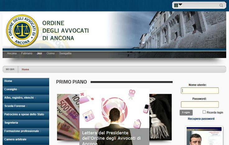 Portale dell'ordine degli avvocati - http://www.ordineavvocatiancona.it