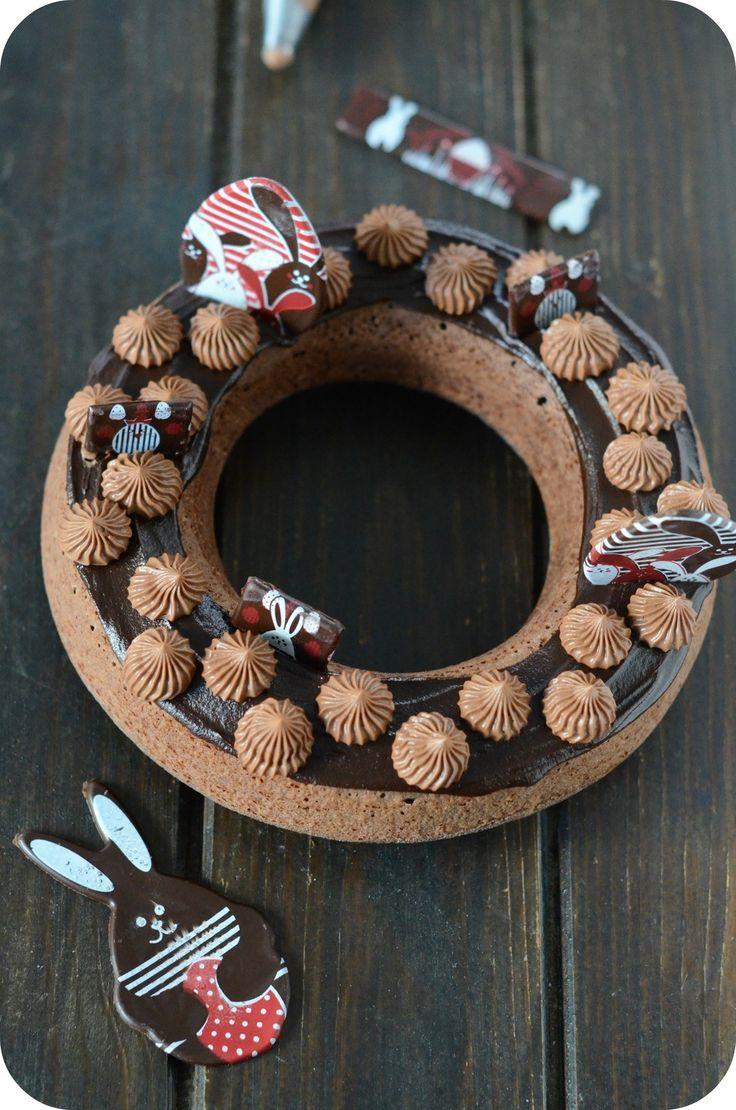 Financier Chocolat en Couronne de Pâques