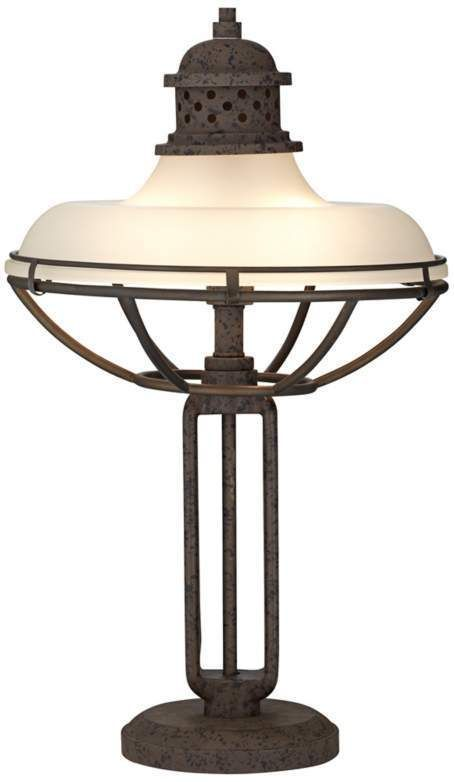 Industrial Style Table Lamp * Industrial Metal And Glass Table Lamp * Table  Lamp #FranklinIronWorks - 17 Best Table Lamps Images On Pinterest Light Table, Table Lamp