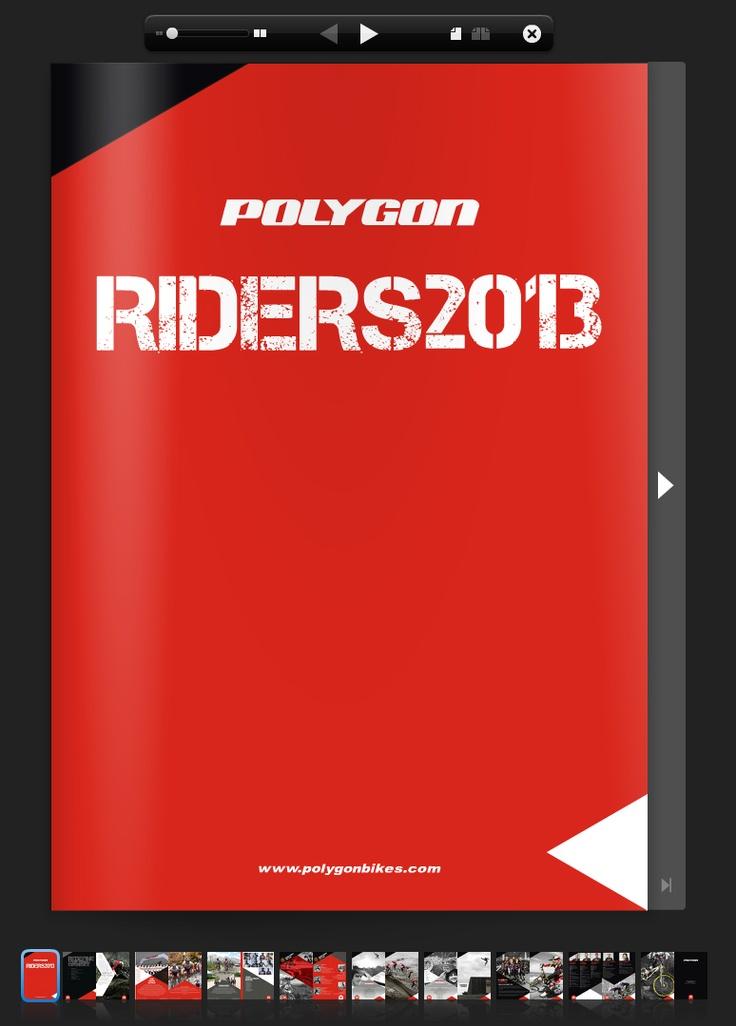 polygon riders 2013 cover