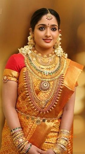 South Star Kavya Madhavan Bridal Jewellery More From Category:Bridal Jewellery of South Actress SrideviLakshmi Gopalaswami wearing Ruby Temple JewelleryBridal Gold Jewellery from Malabar GoldVedhika in traditional Kerala JewelleryMallu Actress Samvritha Sunil Wedding JewelleryKerala Bridal Gold JewelleryMaharastrian Bridal JewelleryGold Jada / Braid for Brides