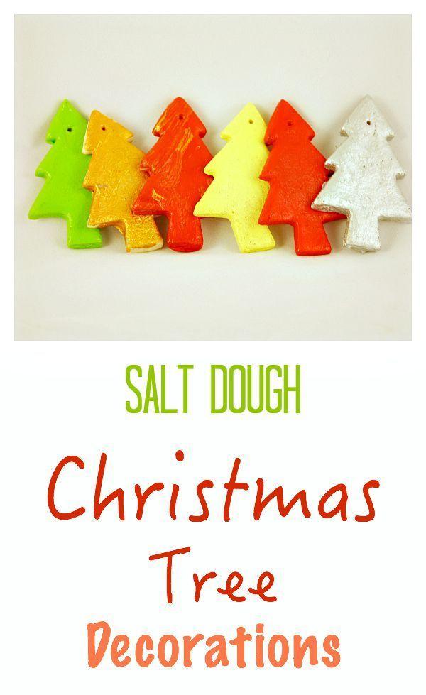 how to make salt dough christmas decorations