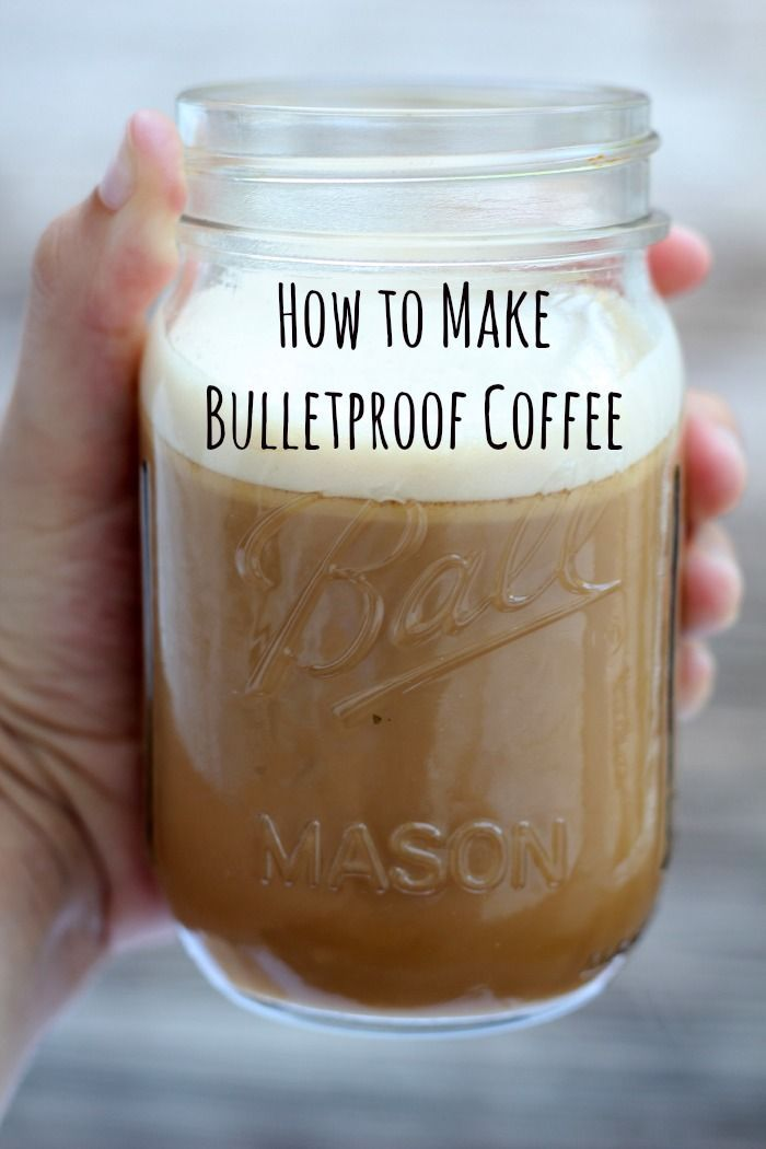 """Breakfast drinks How to make Bulletproof Coffee """"Bulletproof coffee gives you an amazing energy boost that will keep your mind focused and clear!"""""""