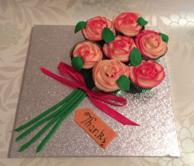 Cupcake Bouquet Board In 2019 Cupcake Cakes Cake Cupcakes