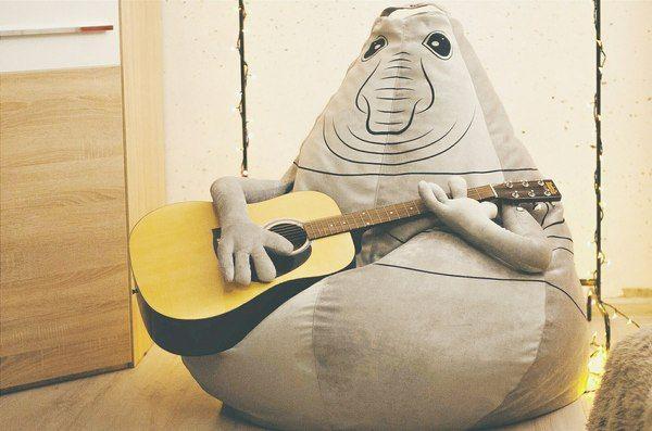Решили с другом сделать свой Ждун-мешок ждун, кот, кресло-мешок, длиннопост, сталин, гитара