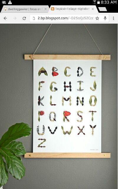 Poster frame DIY