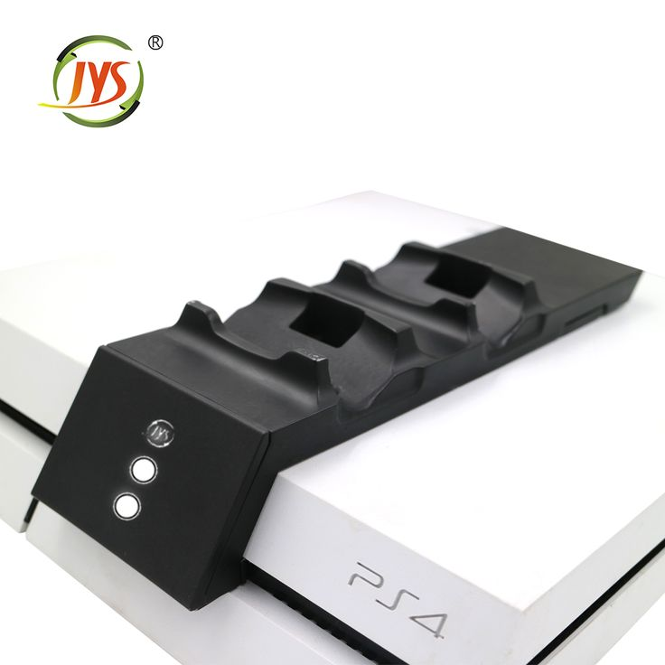 Hot-selling new design Dual Charger Dock for PS4 Controller Charging Station for playstation 4 console PS4 Modular Charger #4_Console, #playstation