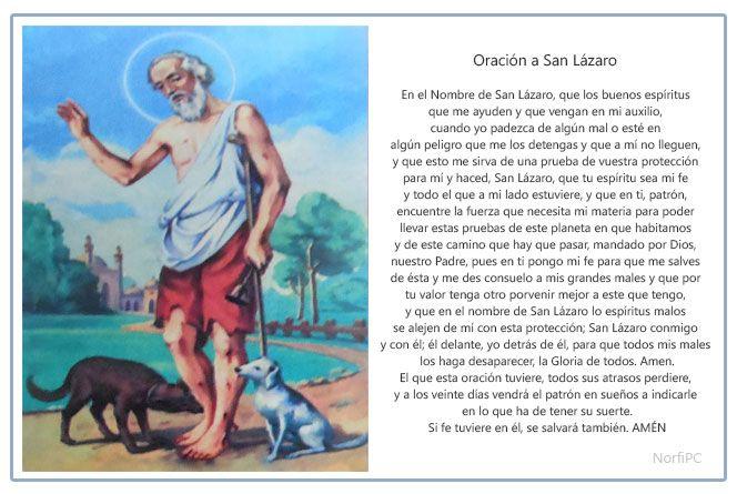 Oración popular para pedirle un favor a San Lázaro Milagroso, el Patrón de los Pobres