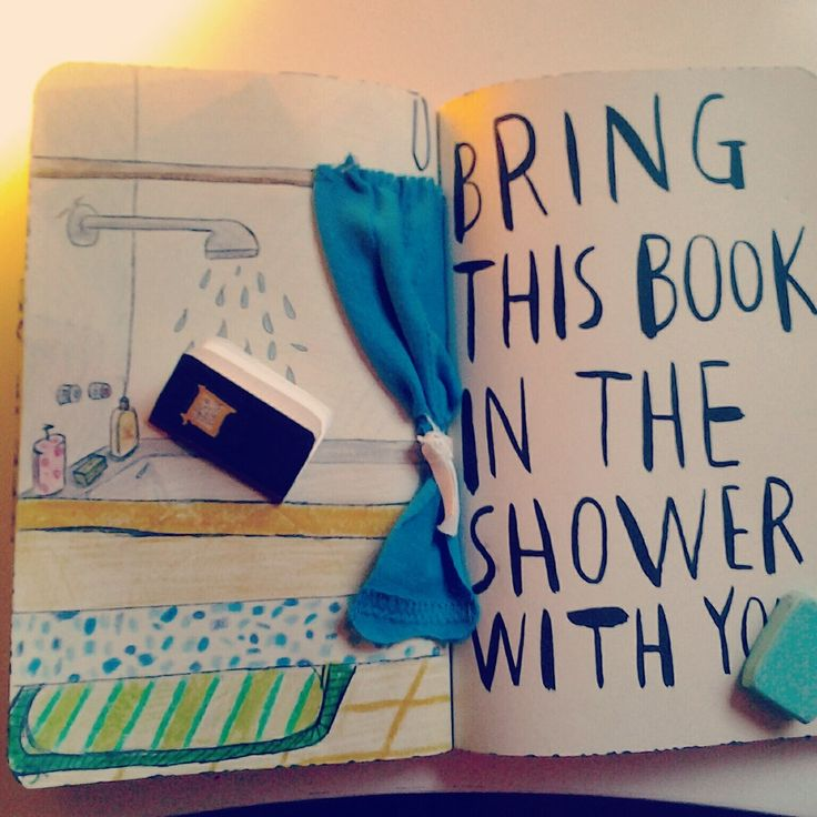 WTJ, bring this book it the shower with you