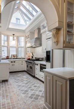 Upper West Side Townhouse, NY, NY - traditional - kitchen - new york - Jared Sherman Epps