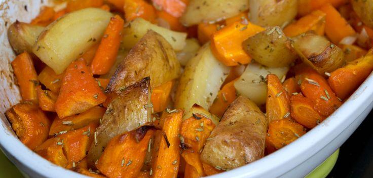 Recept: worteltjes en aardappelen met rozemarijn en honing | eten | twentysomething