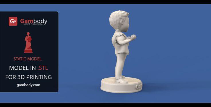 Perk Boy, Adrenaline Rush + Gangster Set (Scale model) - Heroes for 3D Mode for printing
