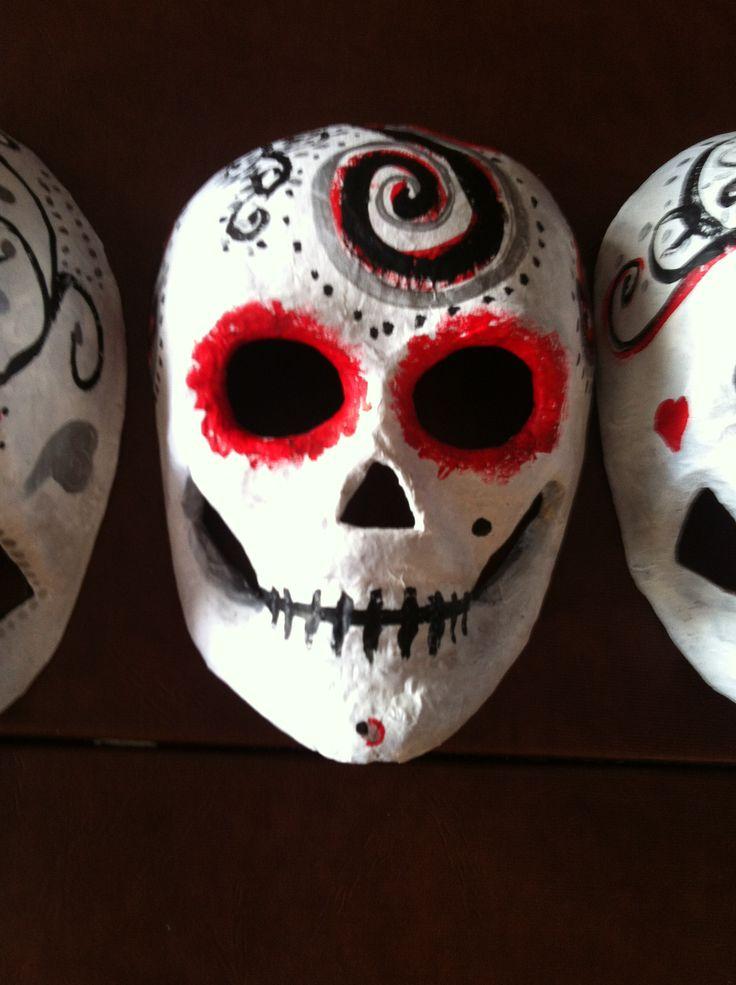 Sugar skull mask | art | Pinterest